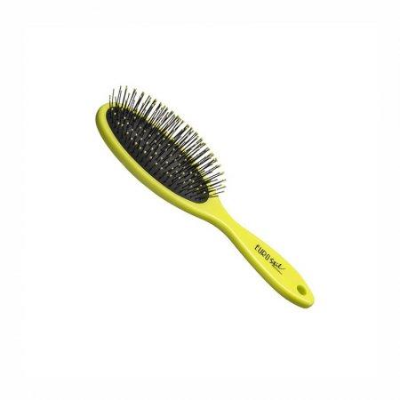Eurostil  Oval Brush, Greeen Fluor