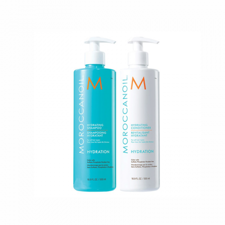 Moroccanoil Hydrating Shampoo & Conditioner Duo 2 x 500ml