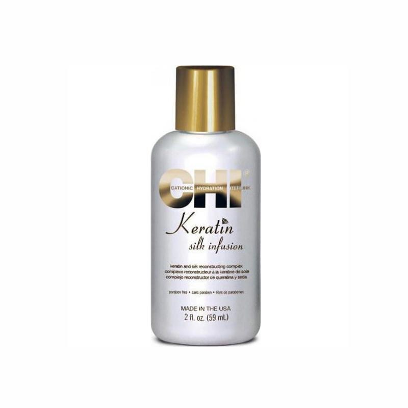 Farouk Chi Keratin Silk infusion 59ml Λάδι μαλλιών με μετάξι και κερατίνη d07c95ddffe