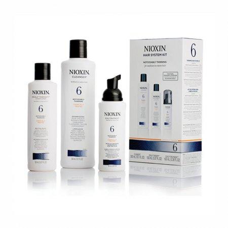 Nioxin KIT Σύστημα 6 (Σαμπουαν 150ml, Conditioner 150ml & Θεραπεια 50ml)
